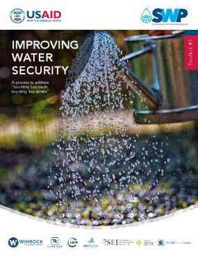 """Improving Water Security: A Process to Address """"Too Little, Too Much, Too Dirty, Too Erratic"""""""